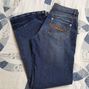 U.s.Polk Assn vintage womens jeans 9/10 flare